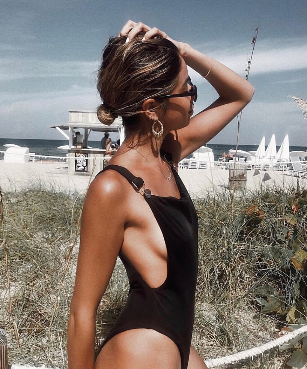 HARLEY ONE-PIECE || BLACK