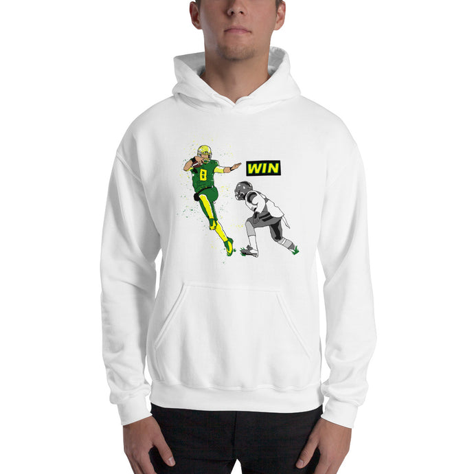 Oregon Mariota WIN Hooded Sweatshirt
