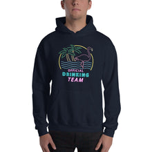 College Clout Originals: Official Drinking Team Hooded Sweatshirt