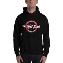 College Clout Originals: No Half Sends - Blood Red Hooded Sweatshirt