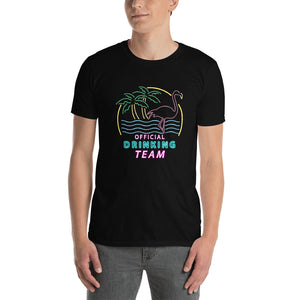 College Clout Originals: Official Drinking Team Short-Sleeve Unisex T-Shirt