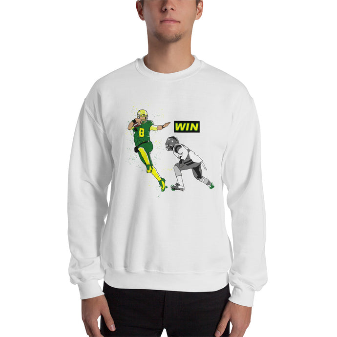 Oregon Mariota WIN Sweatshirt