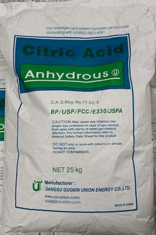 Citric Acid - EnviroChem Online