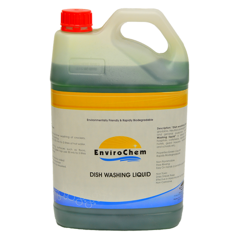 Dishwashing Liquid Concentrate (Mint) - EnviroChem Online