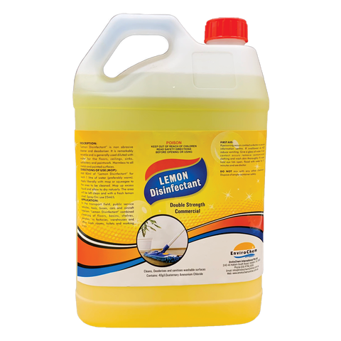 Lemon Disinfectant HOSPITAL GRADE - EnviroChem Online