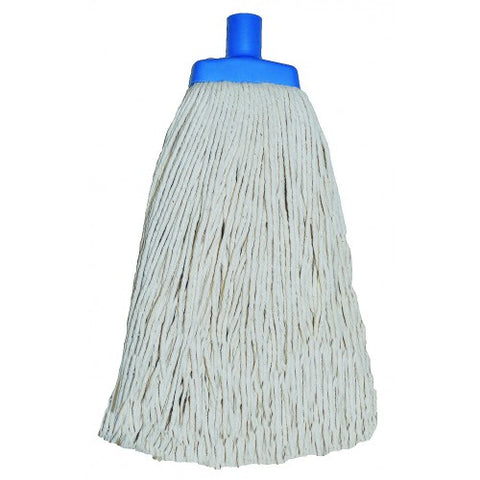 White Contractor Mop Head (600g)