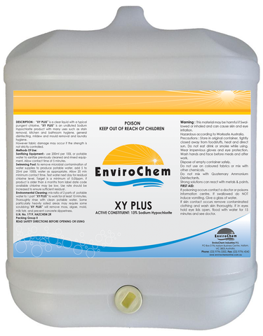 Bleach – Heavy Duty (12.5%)- XY PLUS - EnviroChem Online