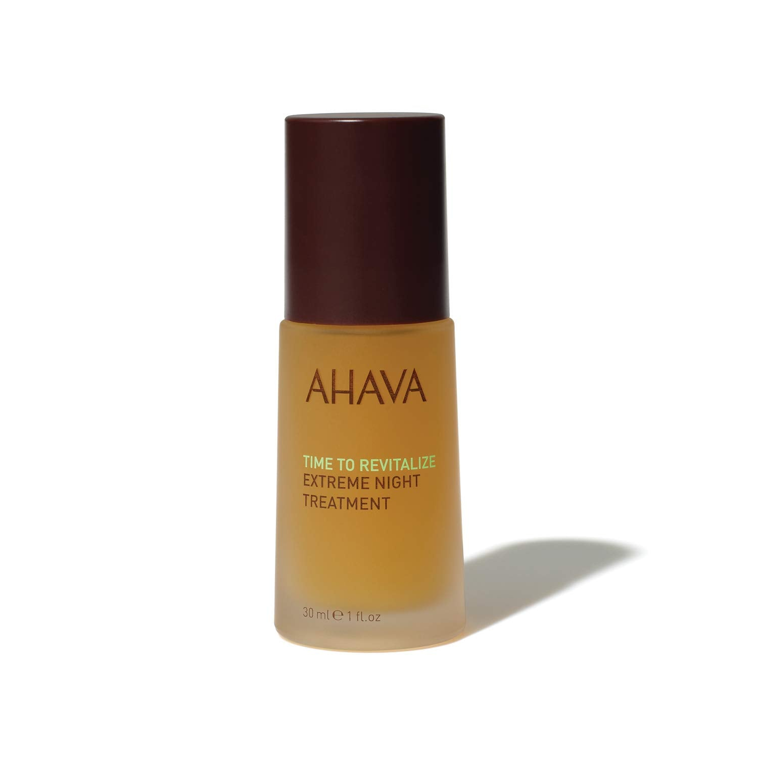 AHAVA Dead Sea Mineral Time to Revitalize Extreme Night Treatment, 1oz / 30 ml