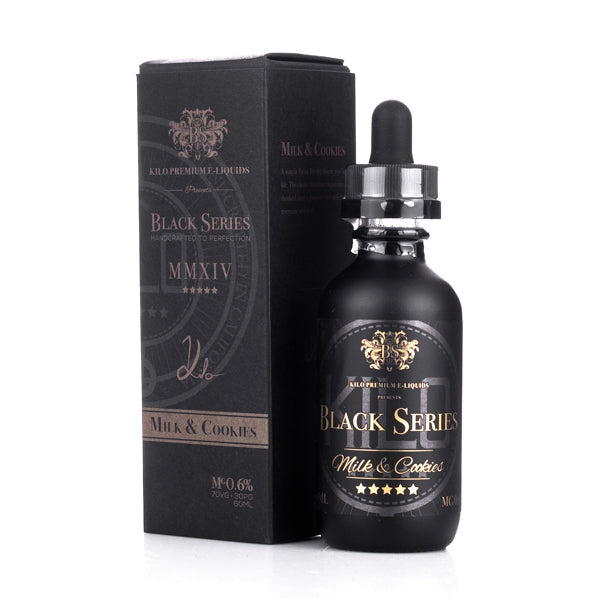 Kilo Black Series - Milk & Cookies (60ml)