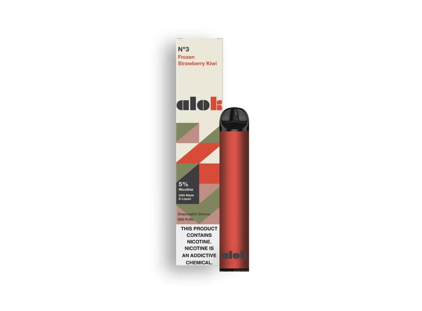 ALOK Disposable Vape Pens Frozen Strawberry Kiwi