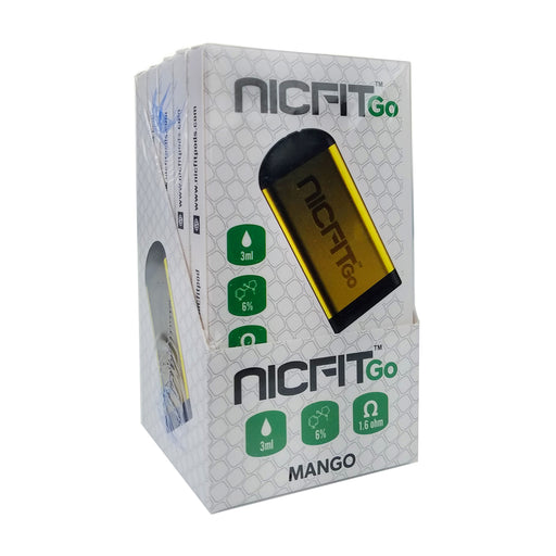 NicFit Go Disposable Vape Device