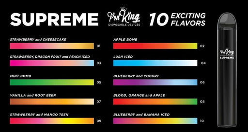Pod King Supreme (All Flavors)