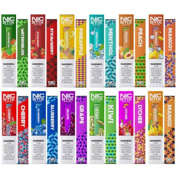 NIC Sticks (Nic Stix Disposables)