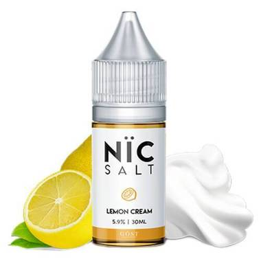 Nic Salt Gost Vapor - Lemon Cream
