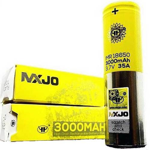 batteries - MXJO 3000 MAH 40A 35 A 3.7V