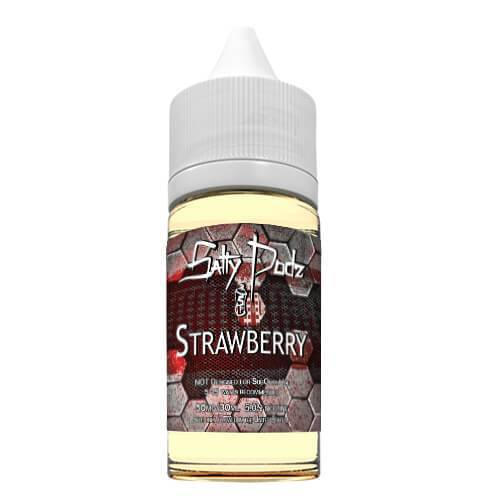Salty Podz - Strawberry (30ml)