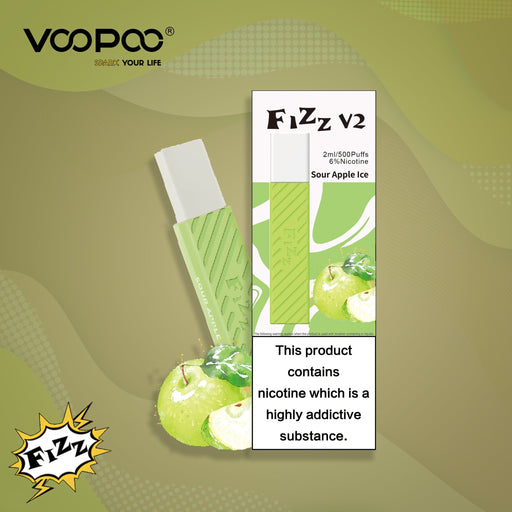 Fizz V2 Vape (sour apple)