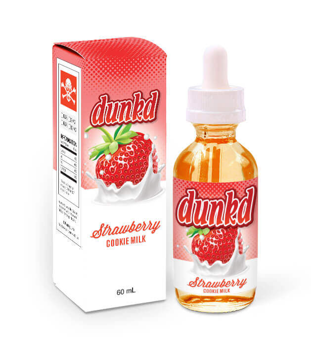 Dunkd - Strawberry Cookie Milk 60ml