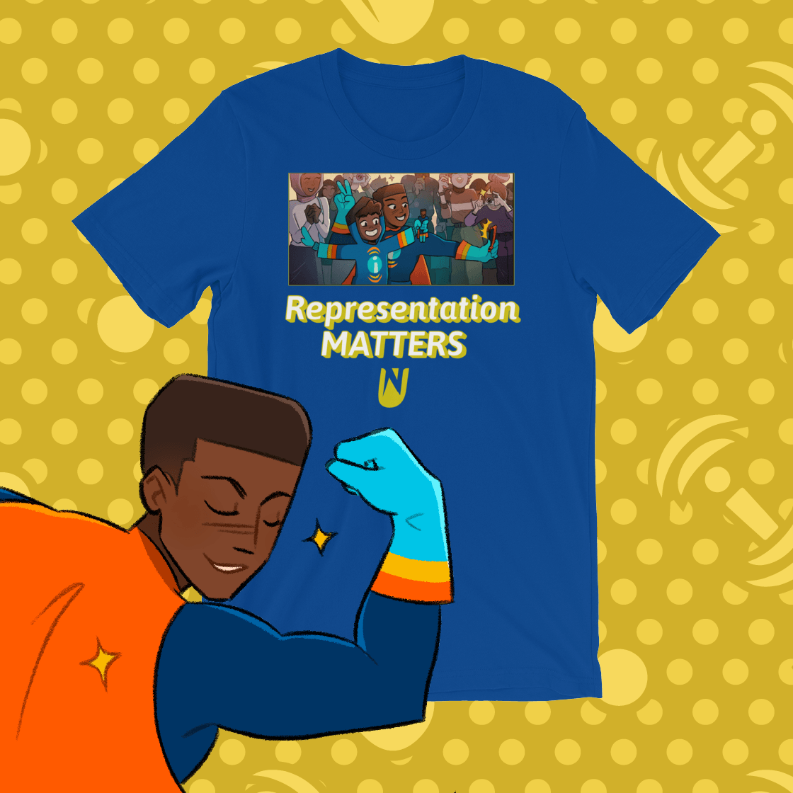Influencer Representation Matters Tee