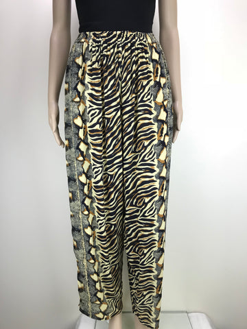 Harem Pants Animal Zebra