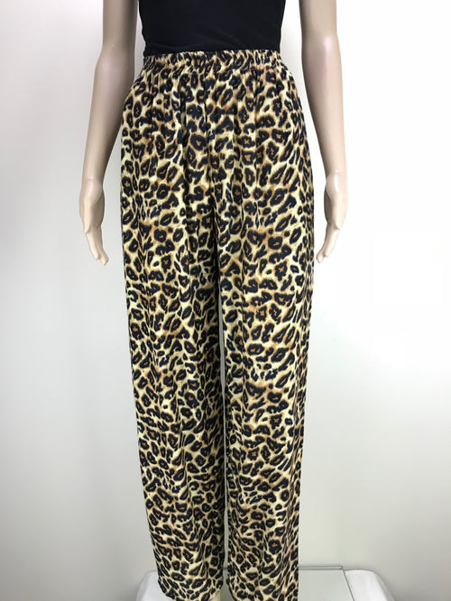 Pants Animal Leopard