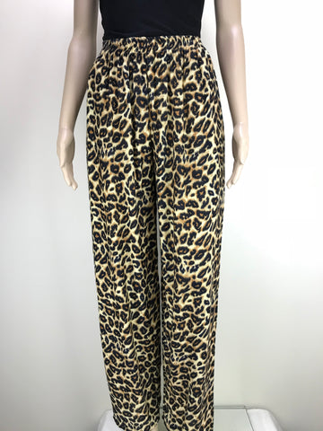 Shirred Pants Animal Tiger