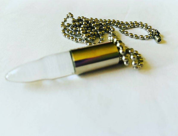 Bulletprove Teardrop Necklace 004