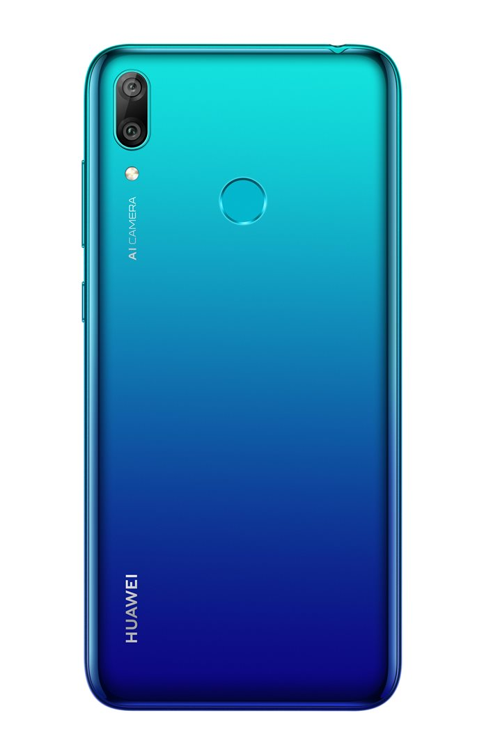 Huawei Y7 2019 (Coral Red / Aurora Blue / Midnight Black)