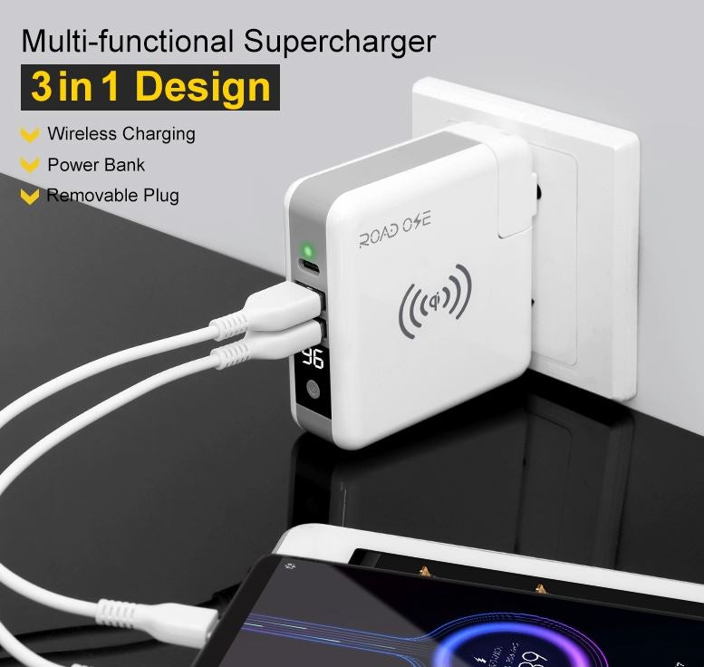 3 in 1 Power Bank, Traveller's Partner