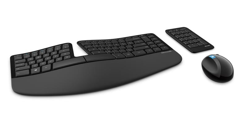 Microsoft Sculpt Ergonomic Desktop Wireless Set, CZ & SK