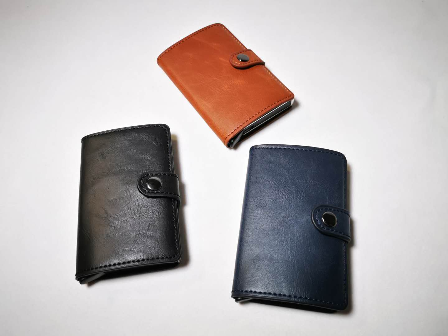 Auto Popup Card Wallet (leather)