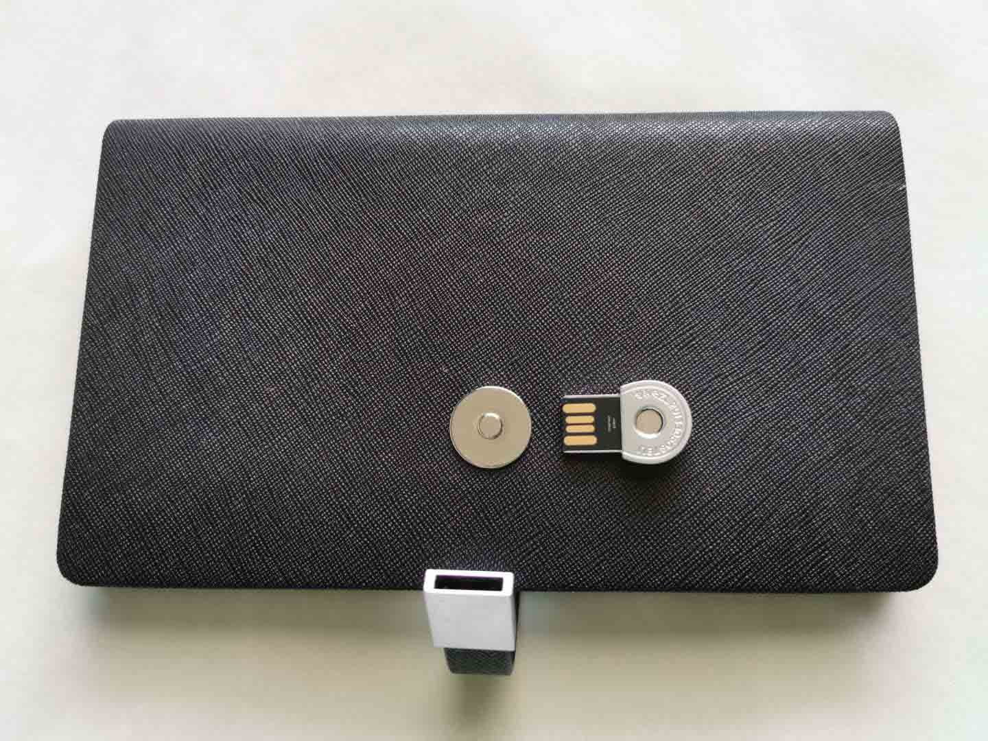 Business Notebook integrated with USB Key Lock