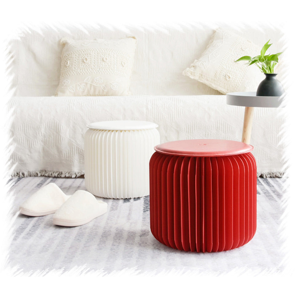 Artistic Paper Stool  #Comforty Selection