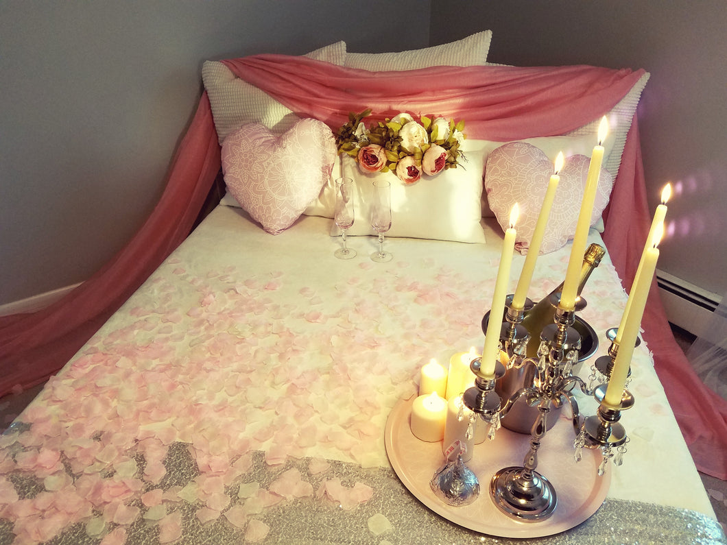 Romantic bed