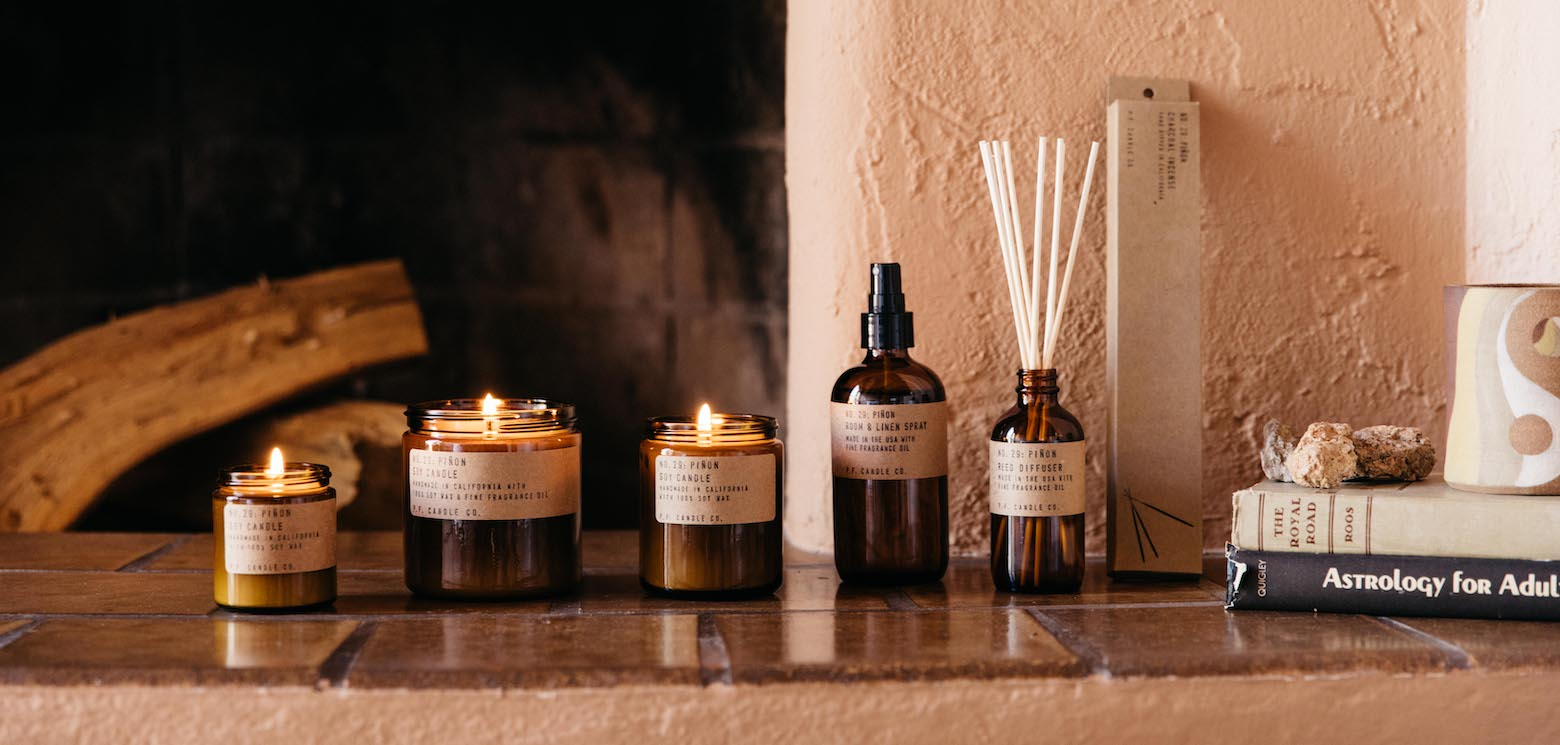 PF Candle Co Wholesale Pinon collection