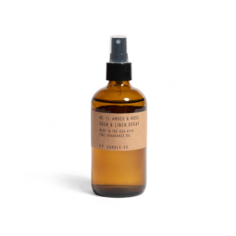 NO. 11: AMBER & MOSS - 7.75 FL OZ ROOM & LINEN SPRAY