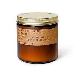 Amber & Moss - 12.5 oz Large Soy Candle