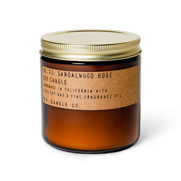 Sandalwood Rose - 12.5 oz Large Soy Candle