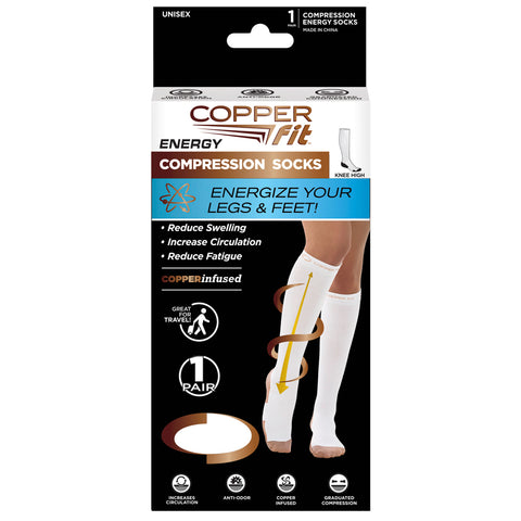 Copper Fit Compression Socks - TVShop