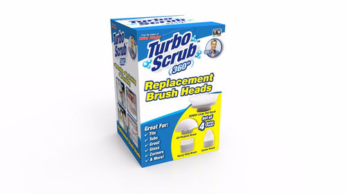 Turbo Scrub Brush Heads - TVShop