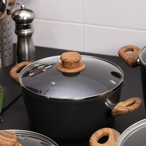 Gourmet Pot Range with Cover - Taste The Difference