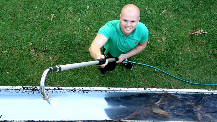 Kleva Clean Gutter Cleaner - TVShop