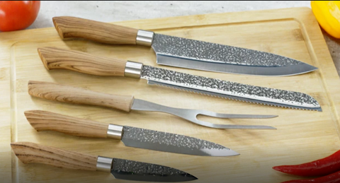 Yoku 9pc Knife Set