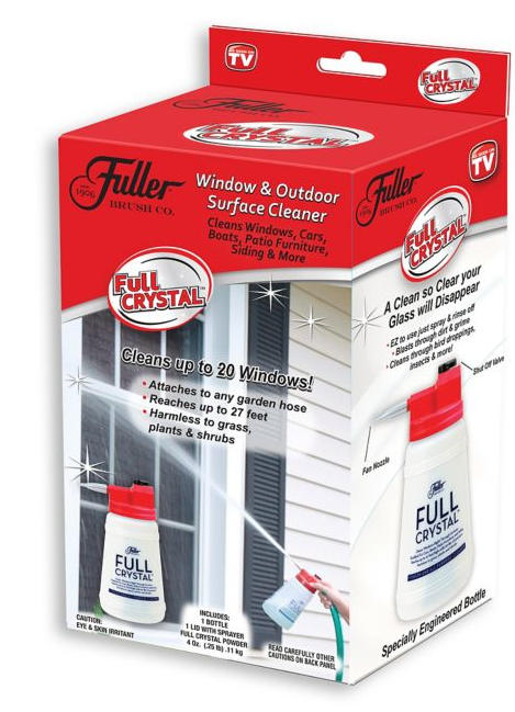 Fuller Brush Full Crystal - TVShop