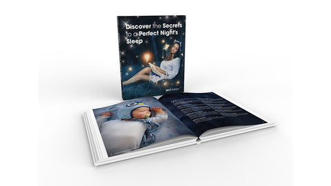 Discover the secrets to a perfect Night's Sleep Book - TVShop