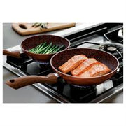 Copper Stone Pans - 4pc Set-TVShop
