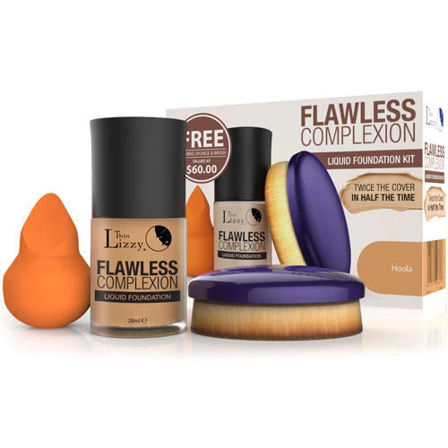 Flawless Complexion Liquid Foundation Kit – Original All-inclusive Kit-Health & Beauty-TVShop