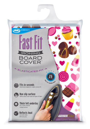 FastFit Ironing Board Cover - TVShop