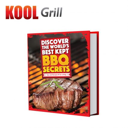 Kool Grill BBQ Recipe Book - TVShop