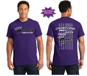 Team Monarch Adult Purple Shirt